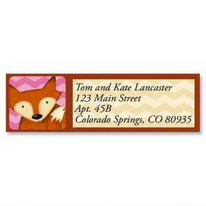 Forest Friends Classic Address Labels  (6 Designs)