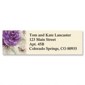 Florals of Finchley Classic Address Labels  (12 Designs)