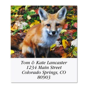 Woodland Animals Select Address Labels  (6 Designs)