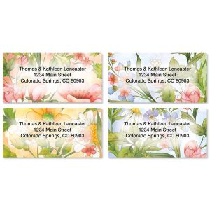 Shop Floral Address Labels
