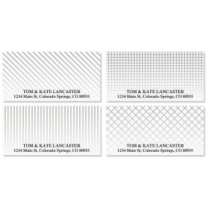 Clean and Simple Deluxe Address Labels  (4 Designs)