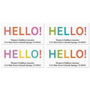 Hello Deluxe Address Labels