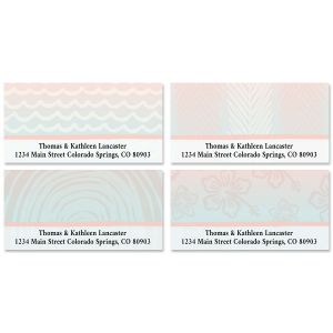 Tropical Escape Deluxe Address Labels (4 Designs)