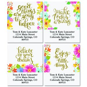 Shop Faith & Inspirational Address Labels
