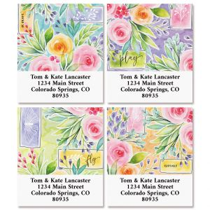 Full Bloom Select Address Labels (4 Designs)