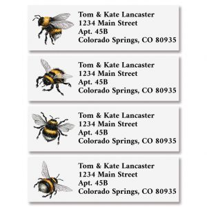 Bees Classic Address Labels (4 Designs)