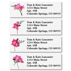Pink Petals Classic Address Labels (4 Designs)
