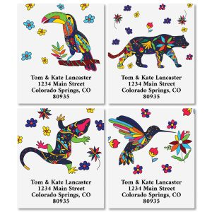 Mexican Flair Select Address Labels (4 Designs)