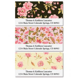 Wild Roses Deluxe Address Labels (3 Designs)