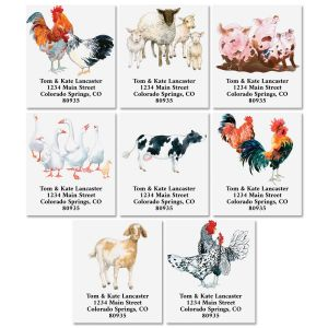 Down on the Farm Select Address Labels (8 Designs)