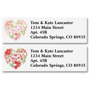 Be Mine Classic Address Labels (2 Designs)