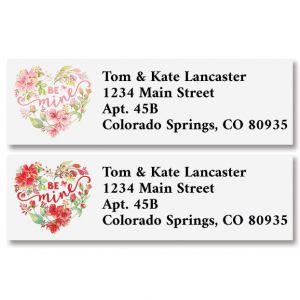 Be Mine Classic Address Labels (2 Designs)