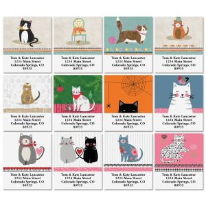 Cat Year Select Address Labels (12 Designs)