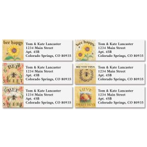French Bee Classic Address Labels (4 Designs)