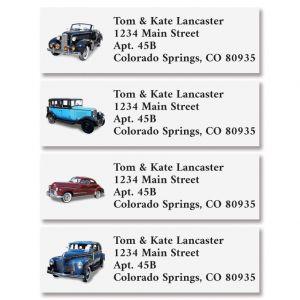 Classic Cars Classic Address Labels (4 Designs)