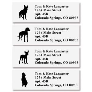 Dog Buddies Classic Address Labels (4 Designs)