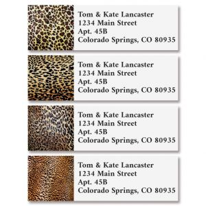 Wild Print Classic Address Labels (4 Designs)
