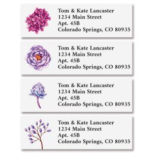 Pretty Succulents Classic Address Labels (4 Designs)