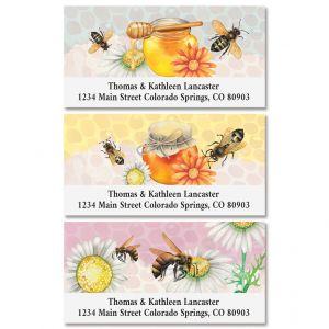 Honey Bees Deluxe Address Labels (3 Designs)