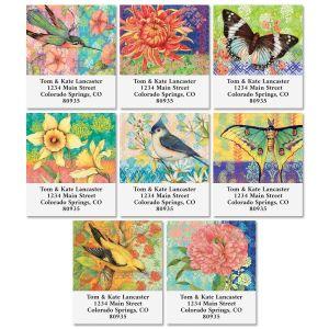Bohemian Garden Select Address Labels (8 Designs)