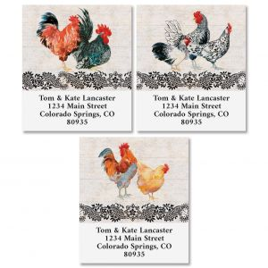 Chicken Coop Select Address Labels (3 Designs)