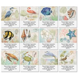 Shoreline Select Address Labels (12 Designs)