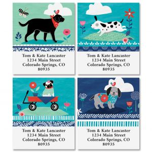 Dog Treats Select Address Labels (4 Designs)