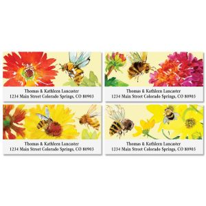 Busy Bee Deluxe Address Labels (4 Designs)