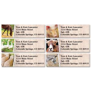 Farm Life Classic Address Labels (6 Designs)