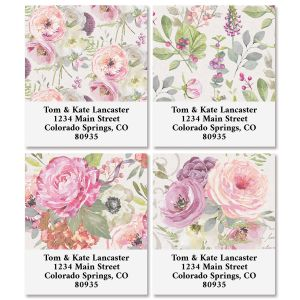 Pink Peony Select Address Labels (4 Designs)