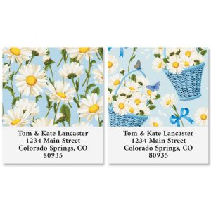 Early Daisies Select Address Labels (2 Designs)