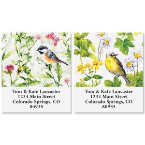 Spring Birds Select Address Labels (2 Designs)