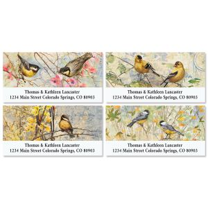 Feathered Nest Deluxe Address Labels (4 Designs)