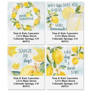 Squeeze The Day Select Address Labels (4 Designs)