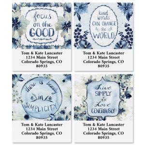 Garden Blues Select Address Labels (4 Designs)
