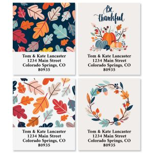 Be Thankful Select Address Labels (4 Designs)