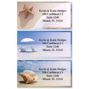 On The Shore Border Address Labels  (3 designs)