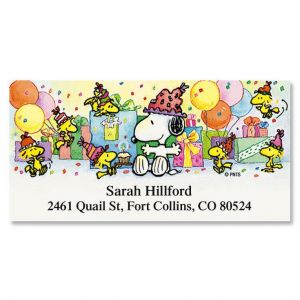 Peanuts Snoopy Year Round Deluxe Labels  (12 designs)