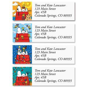 PEANUTS® Snoopy Four Seasons Classic Label  (4 designs)