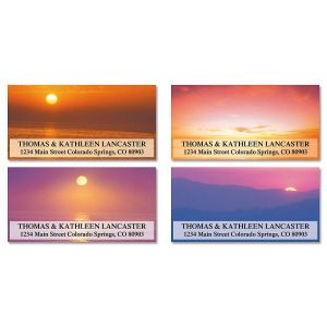 Sunset Splendor Deluxe Address Labels  (4 designs)