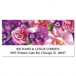 Beautiful Blossoms Deluxe Address Labels  (12 Designs)
