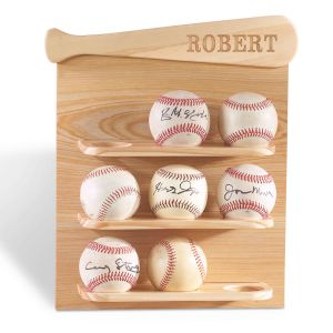 Baseball Personalized Display Shelf