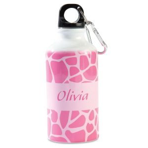 Personalized Giraffe Kids' Water Bottle