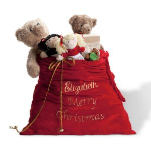 Deluxe Personalized Santa Gift Sack