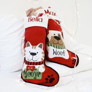 Personalized Pet Christmas Stockings
