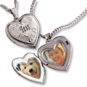 Personalized Engraved Love Locket