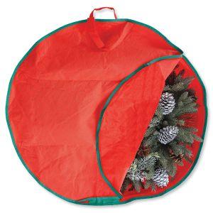 Holiday Wreath Storage Bag