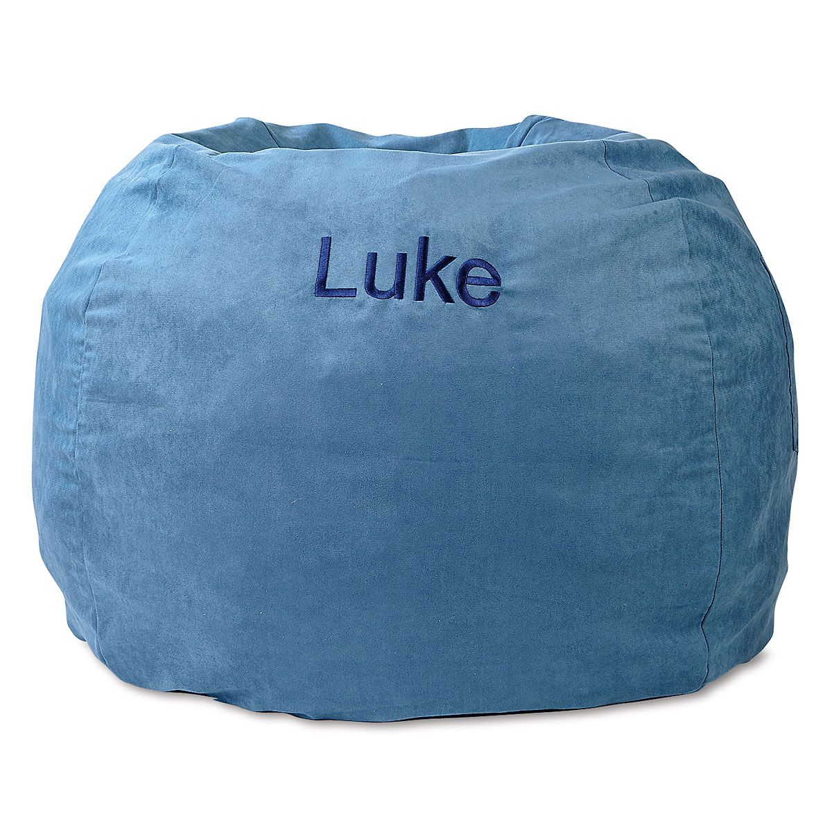 Blue Personalized Bean Bag Chair