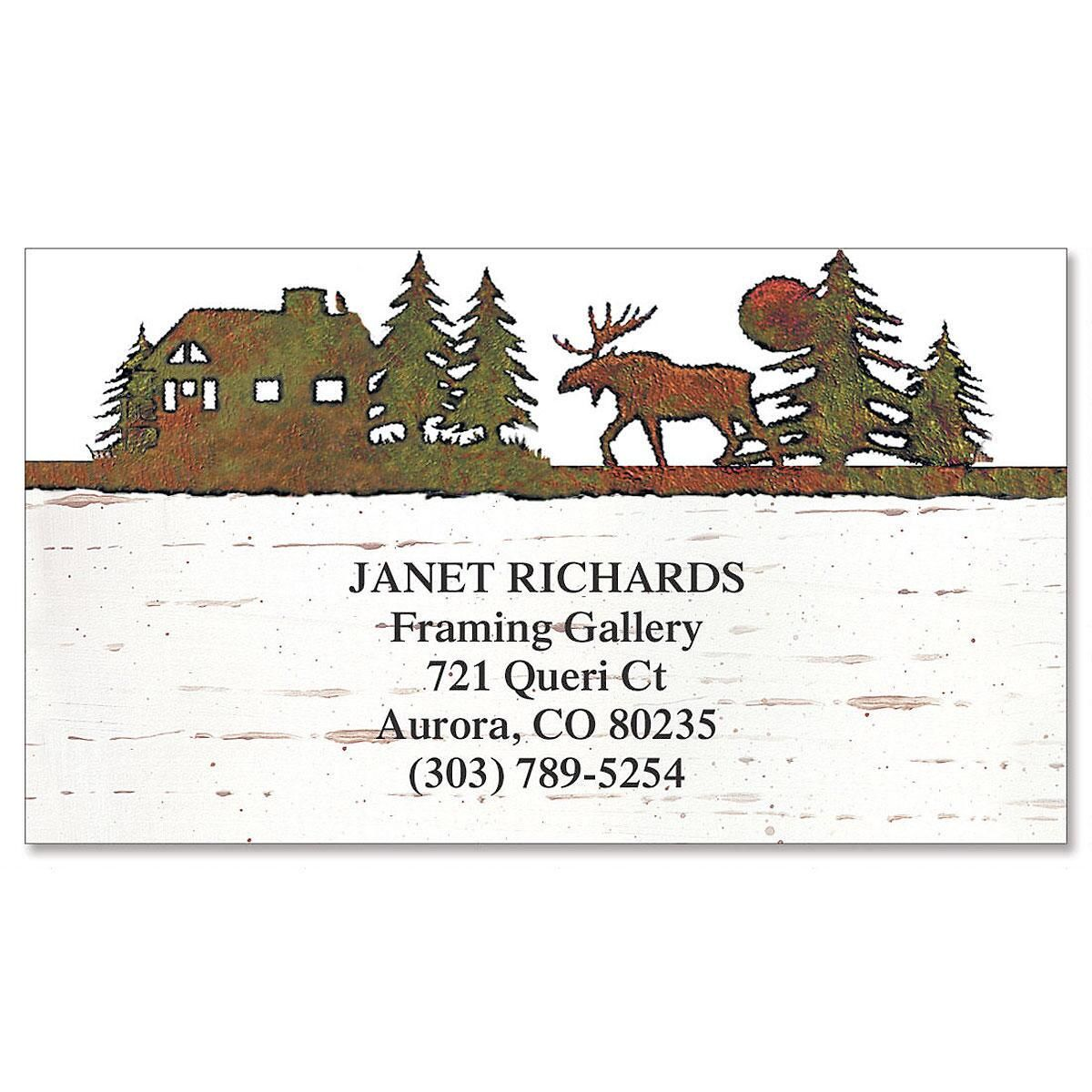 Backcountry Lodge Calling Card