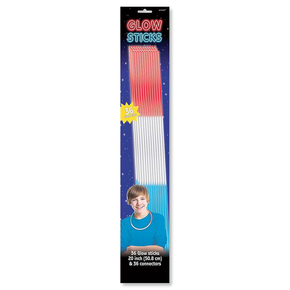 36 Glow Sticks